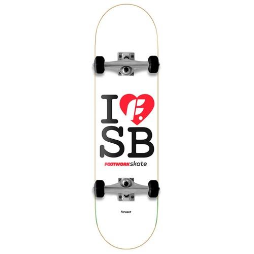 Скейтборд в сборе детский Footwork I F SB Mid Размер 7.31 x 28.7