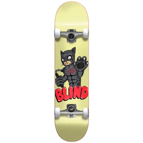Скейтборд в сборе Blind Fos Furry FP Premium Complete Yellow 7.75