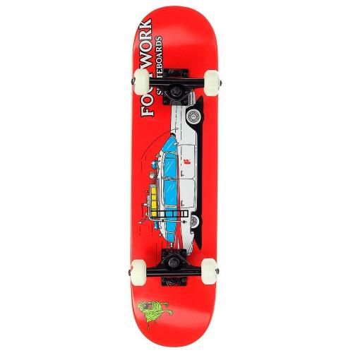 Скейтборд в сборе детский Footwork Skatebusters Mini 7.125 x 28.25