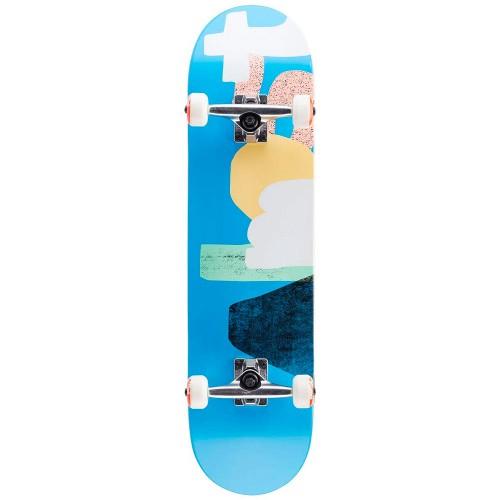 Скейтборд в сборе Almost Organic FP Complete Blue 8.0 х 31.6