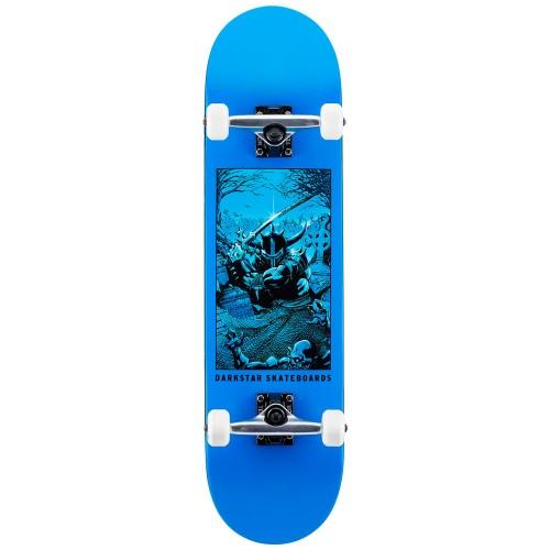 Скейтборд в сборе Darkstar Clean Grave FP Complete Blue 8.0