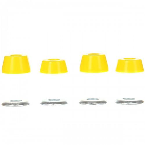 Бушинги для скейтбордических подвесок Юнион Yellow 95a