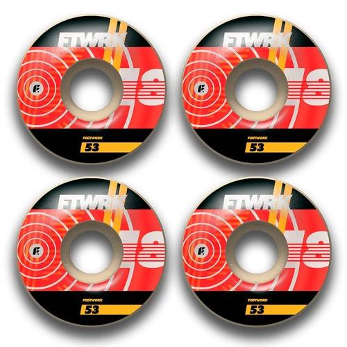 Колеса для скейтборда Footwork Groove 53 mm 101a
