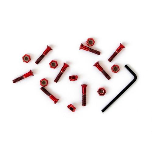 Комплект винтов Footwork Shiny Red 1.0