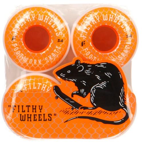 Колеса для круизера Footwork Filthy Orange 54 mm 85a