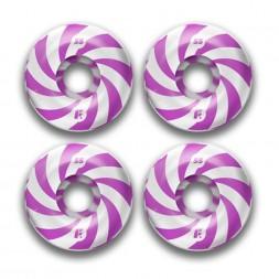 Footwork Swirl Purple 52mm 99a