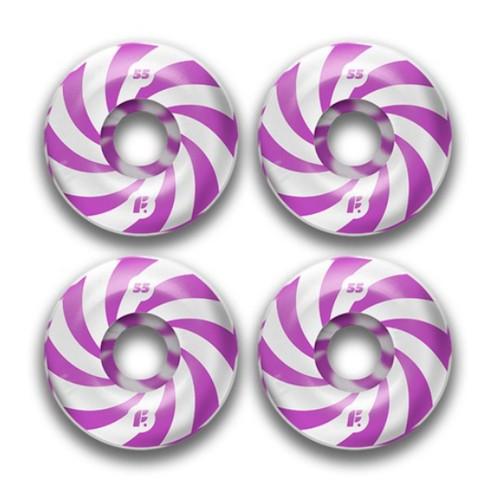 Комплект колес Footwork Swirl Purple 53mm 99a