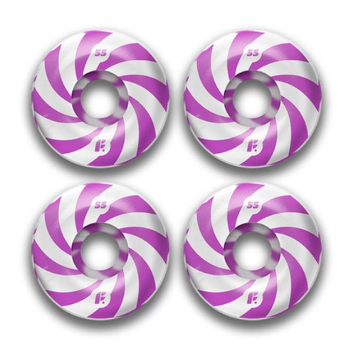 Комплект колес Footwork Swirl Purple 54mm 99a
