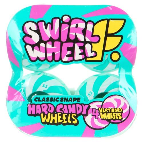 Комплект колес Footwork Swirl Mint 53mm 99a