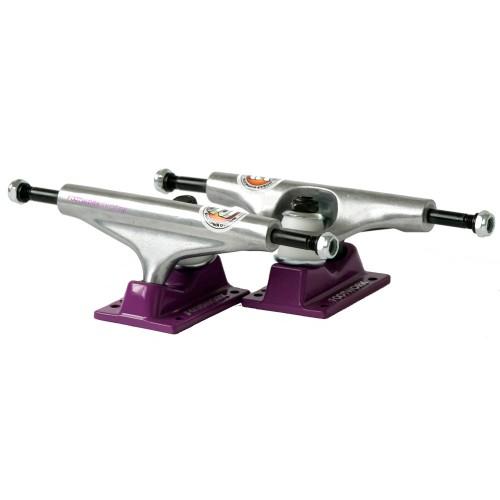 Подвески для скейтборда Footwork Label Purple/Raw 5.5