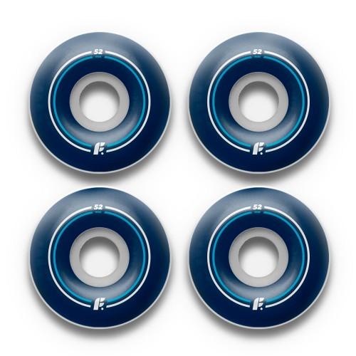 Комплект колес для скейтборда Footwork Basic Round 53 mm 100a
