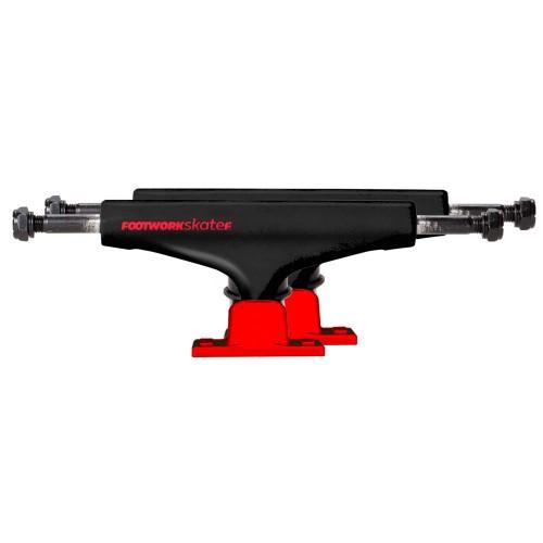 Комплект подвесок для скейтборда Footwork Label Red/Black 5.25