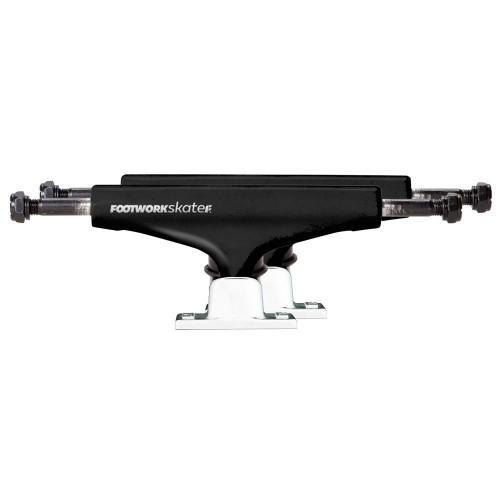 Комплект подвесок для скейтборда Footwork Label White/Black 5.5