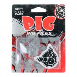 Проставки Pig Piles 1/8 Soft Risers/Shock Clear