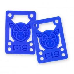Проставки Pig Piles 1/8 Hard Risers Blue