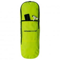 Чехол для скейта Footwork DeckBag Safety Yellow