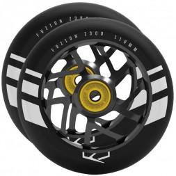 Комплект колес для самоката Fuzion 110 mm Black Ano / Black