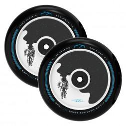 Комплект колес для самоката Fuzion Tyler Chaffin Signature Wheel V2 110 mm Blue Chrome / Black