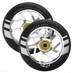 Колеса для самоката Fuzion 110 mm Wheel Silver Ano / Black
