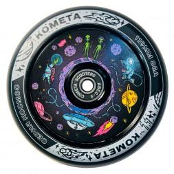Колесо для трюкового самоката Комета Планета Черный / Черный