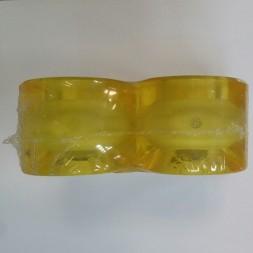 Светящиеся колеса Вираж Yellow Led Blue 59 mm