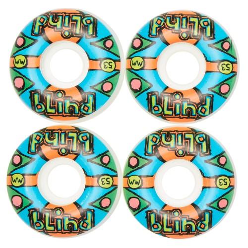 Комплект колес для скейта Blind Grail Quest Wheel Multi 53 mm