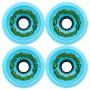 Haraka Wheels Blue 84A 58 мм