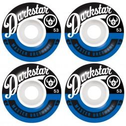 Darkstar Resolve Wheel Blue 53 mm
