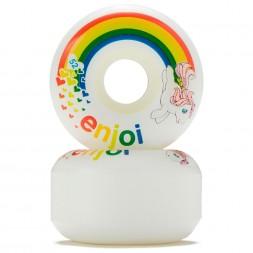 Enjoi Snuzzle Wheel White 52 mm
