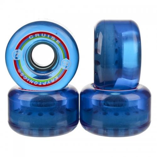 Колеса для лонгборда и круизера Kryptonics Cruise Blue 65 mm
