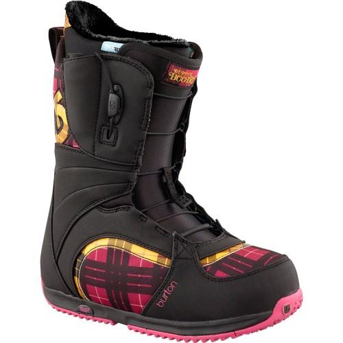 Ботинки для сноуборда женские Burton Bootique black/pink