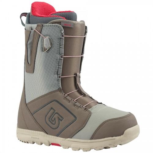 Ботинки для сноуборда мужские Burton Moto Gray