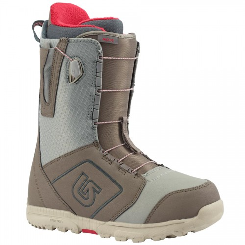 Ботинки для сноуборда мужские Burton Moto Gray 17/18