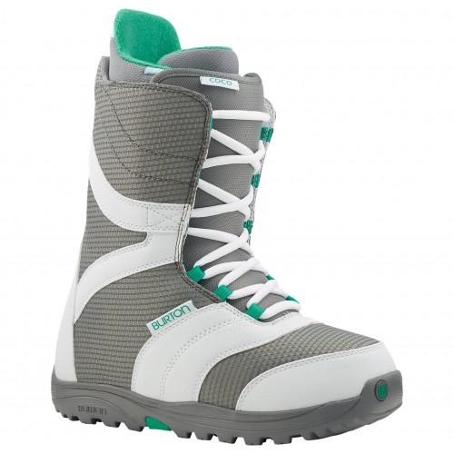 Ботинки для сноуборда Burton Coco 14/15, white/gray/teal