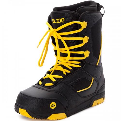 Ботинки для сноуборда Glide Black/Yellow