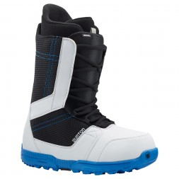 Burton Invader 14/15, white/blk/blue