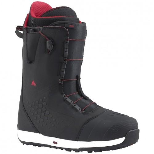 Ботинки для сноуборда мужские Burton Ion Black/Red 17/18