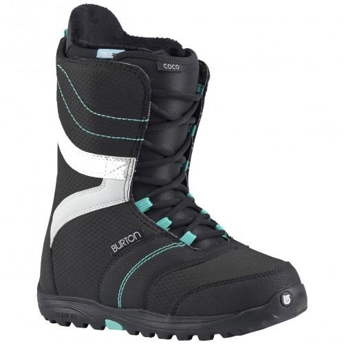 Ботинки для сноуборда женские Burton Coco Black/Teal