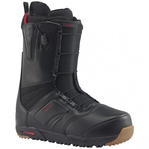 Ботинки для сноуборда мужские Burton Ruler Wide Black 17/18