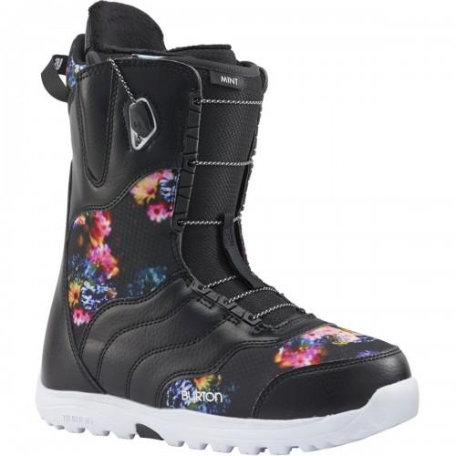 Ботинки для сноуборда женские Burton Mint Black/Multi 17/18