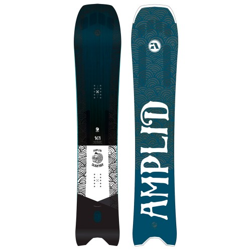 Сноуборд для фрирайда мужской Amplid Surfari 18/19