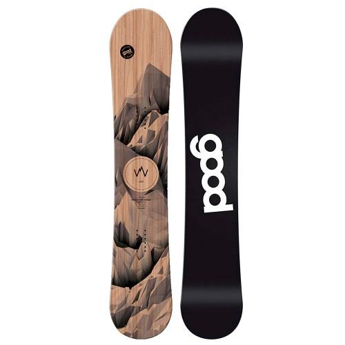 Сноуборд мужской Goodboards Wooden Camber 18/19