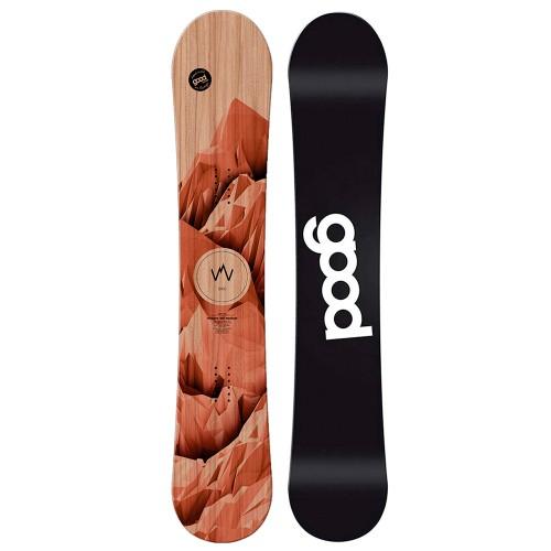 Сноуборд мужской Goodboards Wooden Double Rocker 18/19