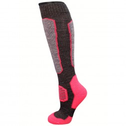 Grand Winter Socks Grey/Pink