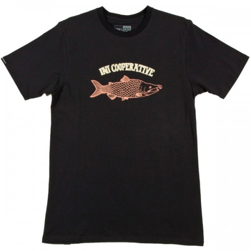 Футболка INI Salmon Tee s15, black