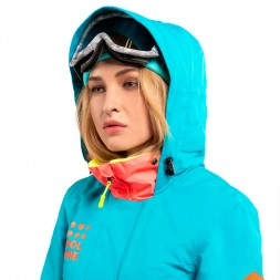 Cool Zone Womens Twin One Color 18/19, волна/коралл