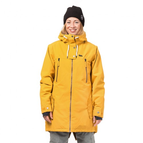 Куртка для сноуборда женская Horsefeathers Womens Chipy Jacket 18/19, honey