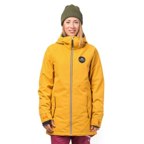 Куртка для сноуборда женская Horsefeathers Womens Dina Jacket 18/19, honey