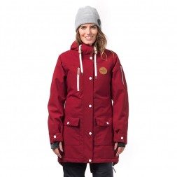 Horsefeathers Womens Getty Jacket 18/19, red