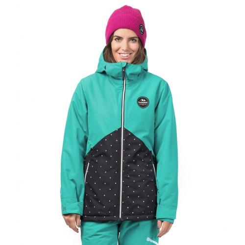 Куртка для сноуборда женская Horsefeathers Womens Judy Jacket 18/19, bluegrass